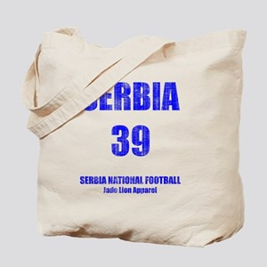 Serbia football vintage Tote Bag